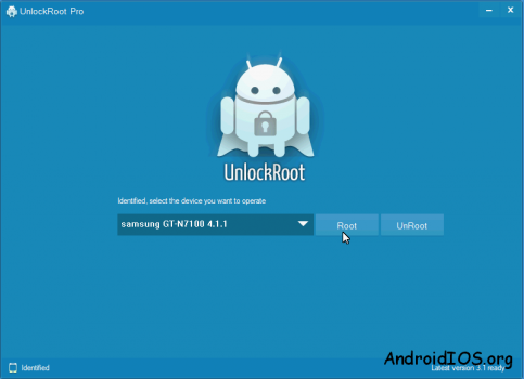 unlock root instruction