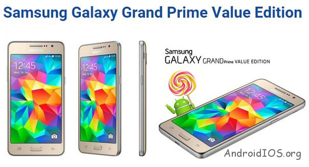 Galaxy Grand Prime Value Edition