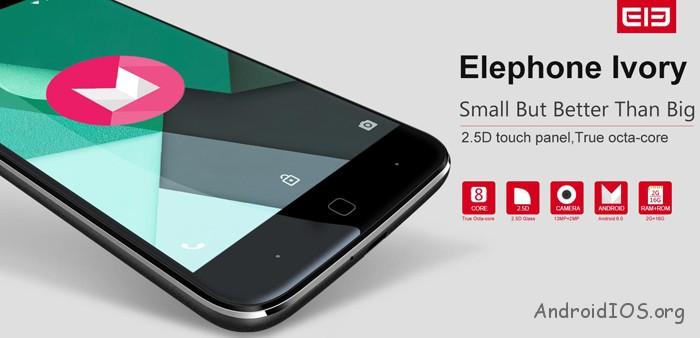 Elephone-Ivory