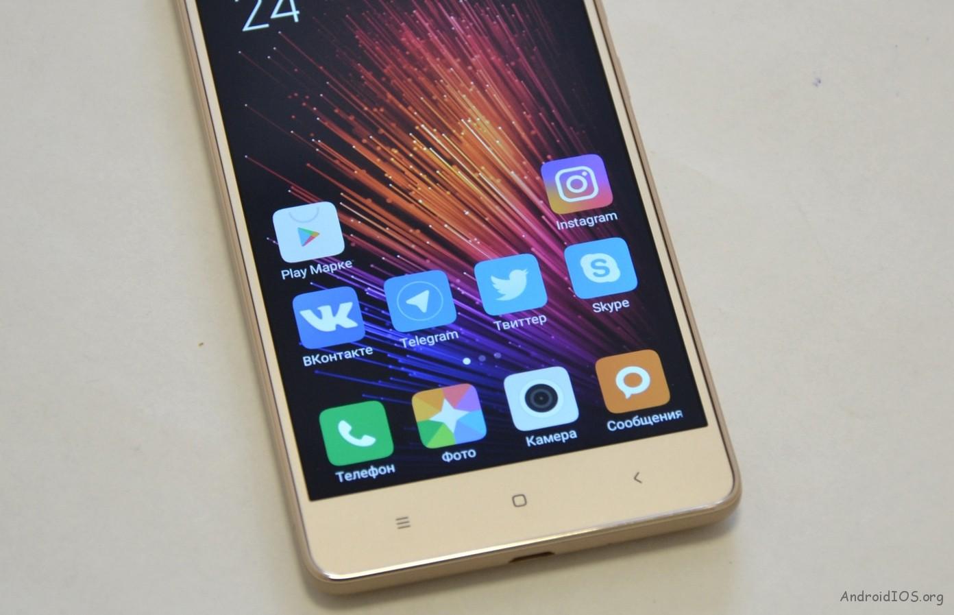 Xiaomi Redmi 3S спереди