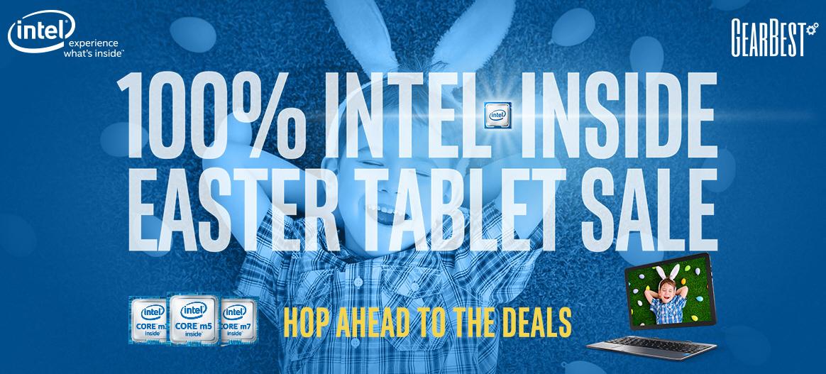 Мощные китайские планшеты на процессорах Intel по хорошим ценам на GearBest