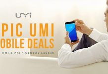 Распродажа UMi смартфонов