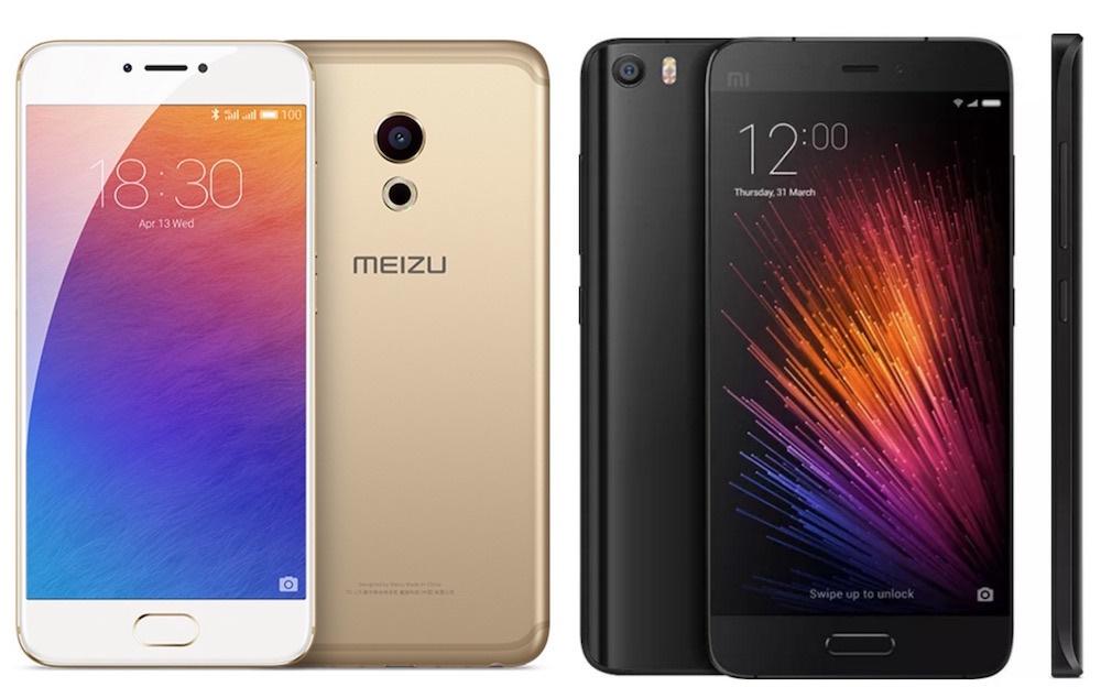 Xiaomi Mi5 или Meizu Pro 6