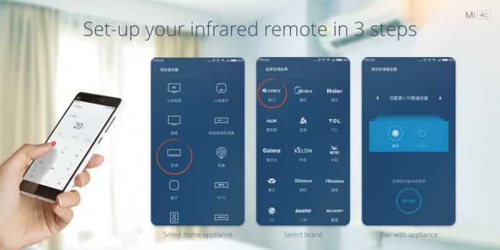 Xiaomi ИК-порт