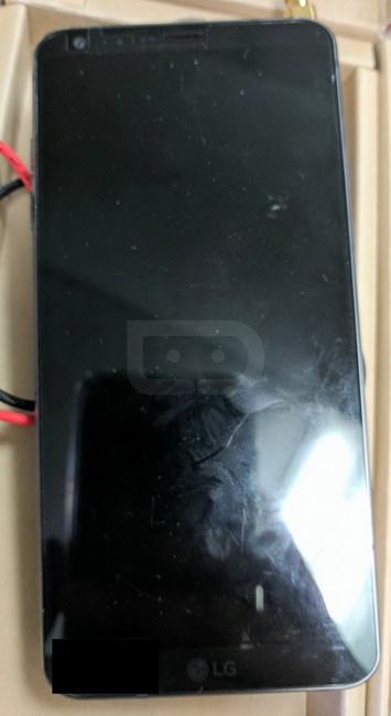 снимки флагманского прототипа LG G6