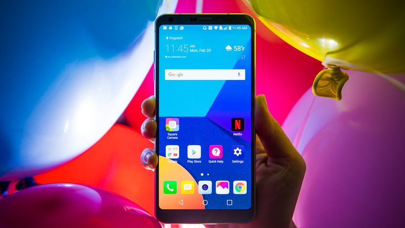 Дисплей LG G6