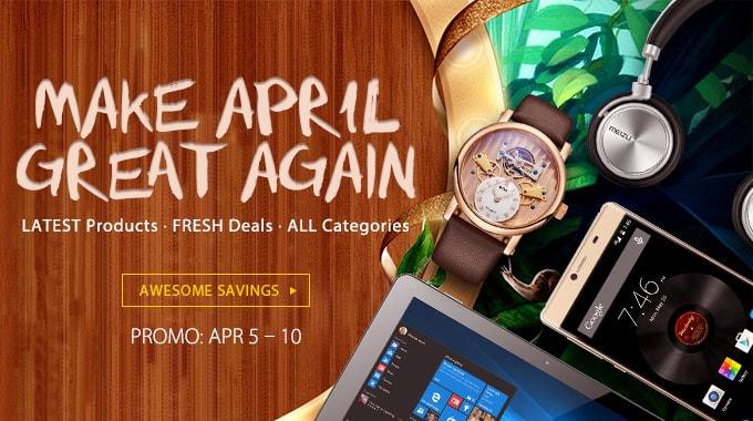 Большая апрельская распродажа электроники