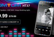 смартфон HomTom HT37 всего за $59.99