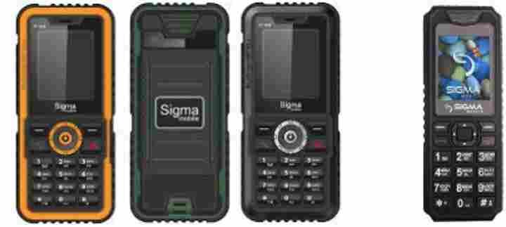 Телефоны Sigma: когда надежность превыше всего
