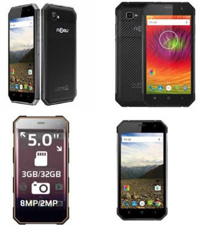 Nomu M6 – новый защищенный смартфон