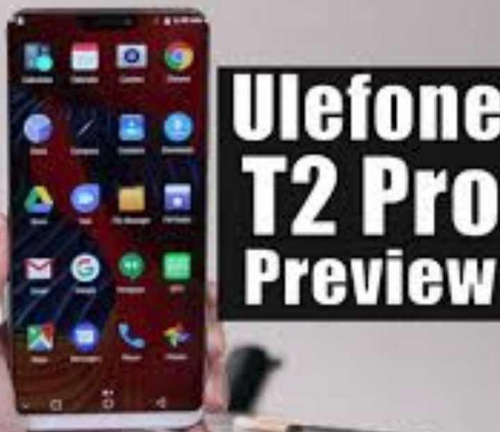 Вышел первый смартфон на чипе Helio P70 - Ulefone T2 Pro