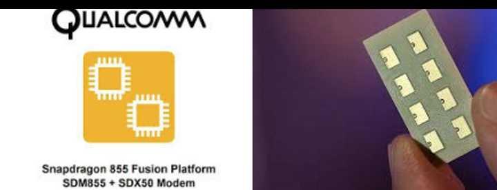 5G модем включен в Чипсет Qualcomm Snapdragon 855 Fusion