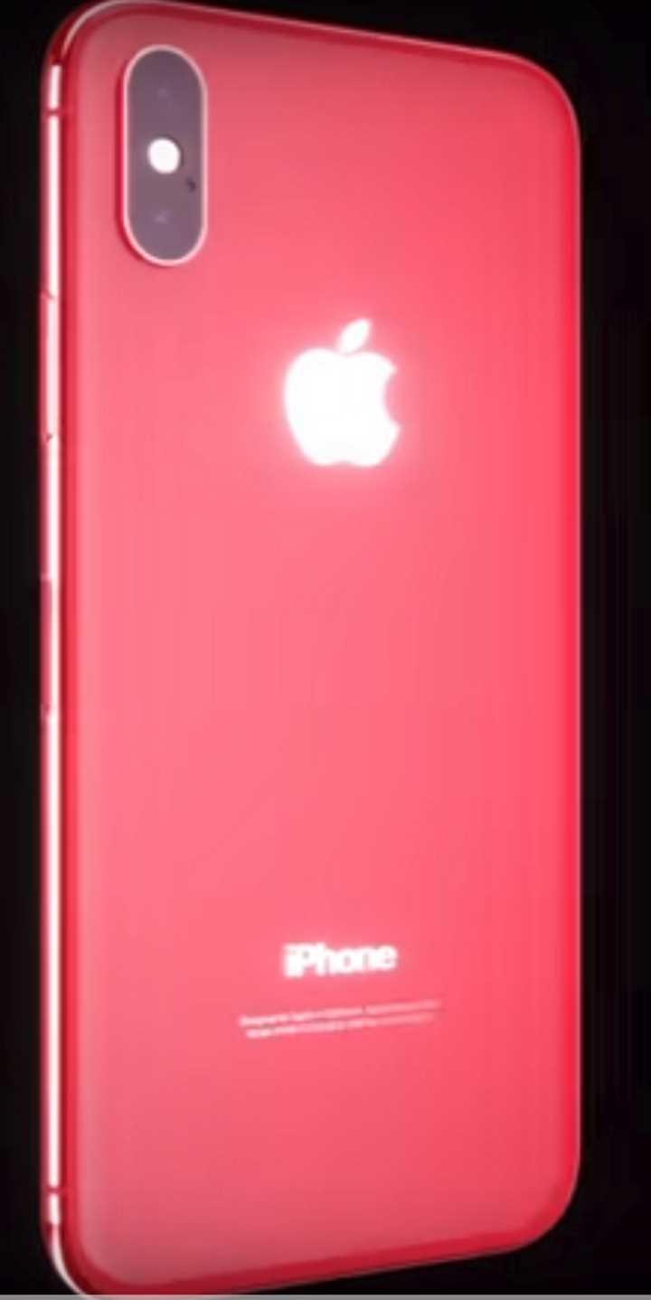 iPhone X RED фото - миф или реальность