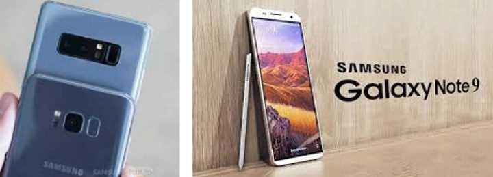Samsung Galaxy Note 9 сканер отпечатков пальцев на задней панели
