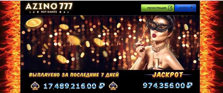 Azino 777 для азартных людей