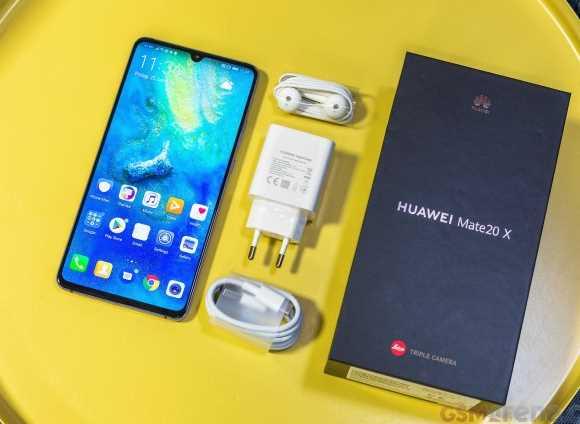 Распаковка Huawei Mate 20 X