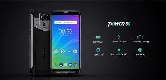 Ulefone Power 5S производительность GPS и отличная цена (видео)