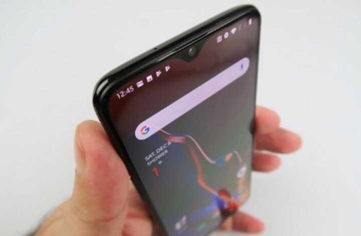 Дизайн OnePlus 6T