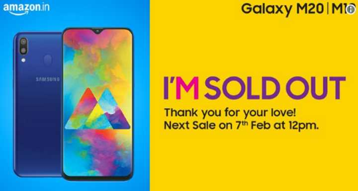 Первая партия Samsung Galaxy M10 и M20 распродана, следующая - 7 февраля
